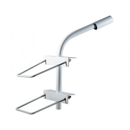 Кронштейн для уличного светильника на опору SКНО