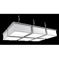 Встраиваемый светодиодный светильник грильято - 50 Вт
